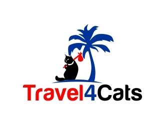 Travel4Cats logo design by mckris