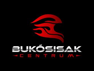 Bukósisak Centrum logo design
