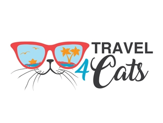 Travel4Cats logo design by Roma