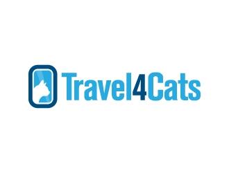 Travel4Cats logo design by gipanuhotko
