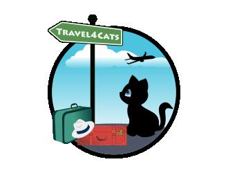 Travel4Cats logo design by Kruger