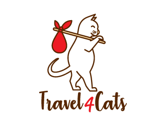 Travel4Cats logo design by uyoxsoul
