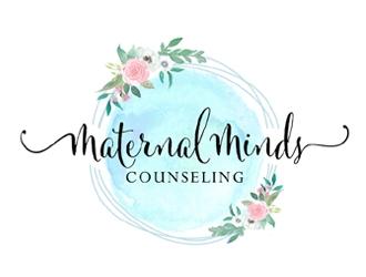 Maternal Minds Counseling logo design