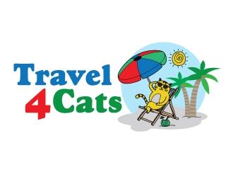 Travel4Cats logo design by jpdesigner
