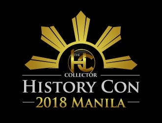 The HC Collector at HISTORY CON 2018   Manila logo design