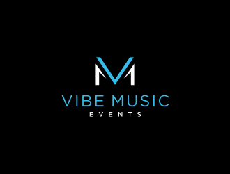 Vibe Music Events logo design