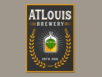 ATLouis logo design