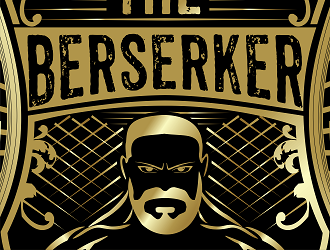 Doug The Berserker Collins logo design