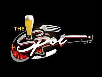 The Spot  logo design
