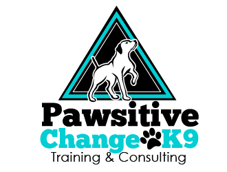 Pawsitive Change K9 Training & Consulting logo design