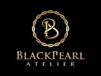 BlackPearl Atelier  logo design