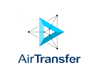 AirTransfer logo design