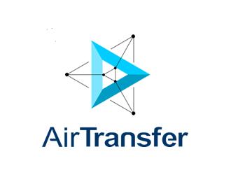 AirTransfer logo design