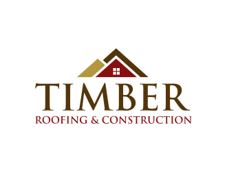Timber Roofing & Construction logo design