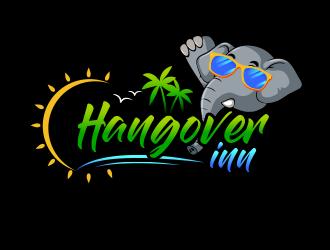 Hangover inn logo design
