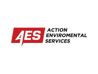 Action Environmental Services  logo design