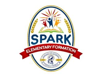 Spark Elementary Formation logo design