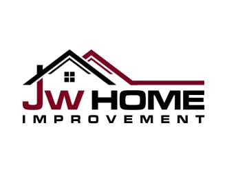 JW HOME IMPROVEMENTS   logo design