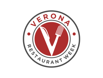 Verona Restaurant Week logo design