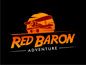 Red Baron Adventure logo design