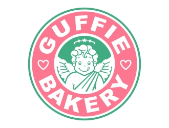 The Guffee Shop & Cake logo design