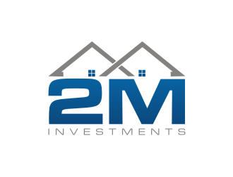 2M Investments logo design
