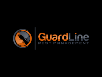 GuardLine pest management logo design