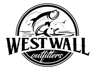West Wall Outfitters logo design