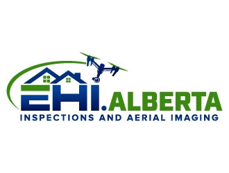 Elite Home Inspections and Aerial Imaging logo design
