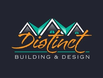 Distinct Building & Design logo design