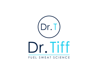 Dr. Tiff: Fuel/Sweat/Science logo design