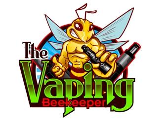 The Vaping Beekeeper logo design