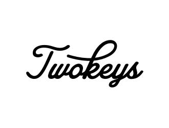 Two Keys logo design