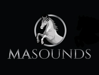 MaSounds logo design