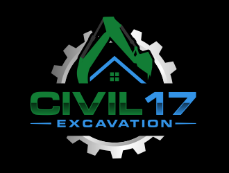 CIVIL 17 logo design