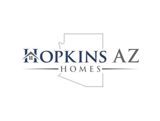 Hopkins AZ Homes logo design