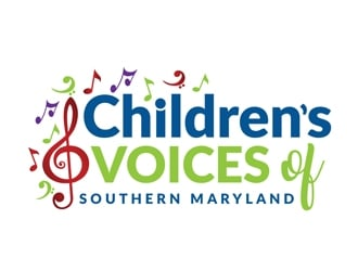 Childrens Voices of Southern Maryland logo design