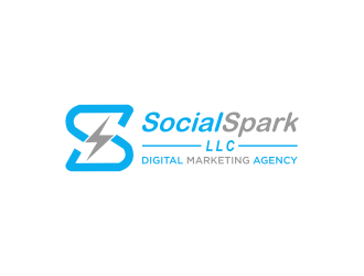 Social Spark LLC logo design