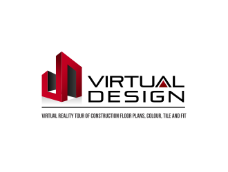 Virtual Design OR Virtual Design Studio logo design