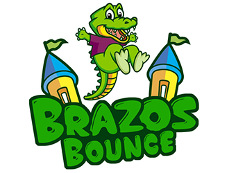 Brazos Bounce logo design