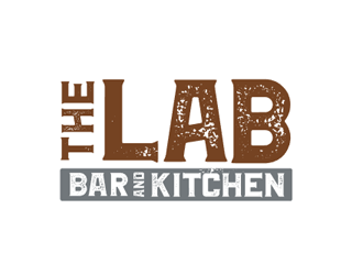 The Lab Bar and Kitchen logo design
