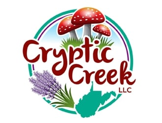 Cryptic Creek, LLC logo design