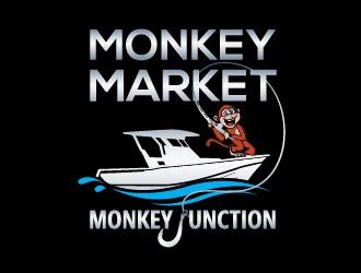 Monkey Market logo design by ARALE