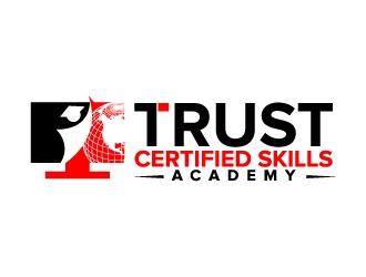 TRUST Certified Skills Academy logo design