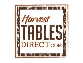 Harvest Tables Direct.com logo design