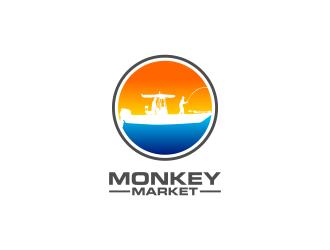 Monkey Market logo design by ubai popi