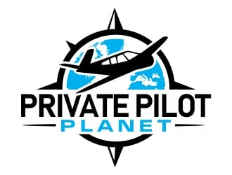 Private Pilot Planet logo design