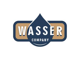 Wasser Company logo design