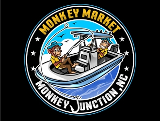 Monkey Market logo design