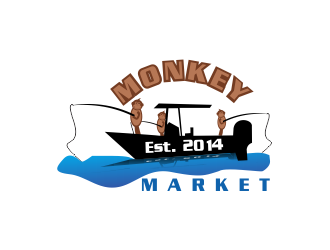 Monkey Market logo design by giphone